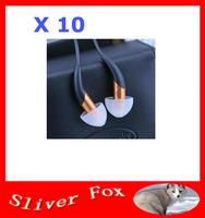 2014 New Arrival X10 in-Ear Earphone Noise Cancelling Earphone Control Talk Free Shipping