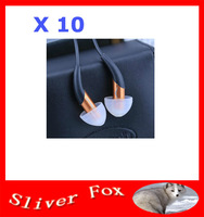 2014 New Arrival X10 in-Ear Earphone Noise Cancelling Earphone Control Talk Free Shipping
