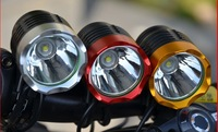 Hotest 1800 Lumen CREE XM-L T6 3modes Bicycle Light LED Light Flashlight + 4*18650 battery pack & Charger