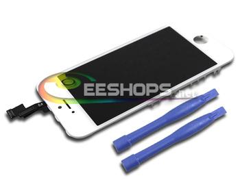 Новый скидка жк-экран для Apple , iPhone 5S 16 ГБ 32 ГБ 64 ГБ полная сборка замена белый цвет W / кронштейн