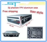 2014 Dji phantom FPV aluminum case New style hm box outdoor protection box flying fairy box AR Four -axis Free shipping boy toy