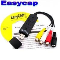 Discount Price New USB 2.0 Easycap dc60 tv dvd vhs video Capture adapter Easy cap card Audio AV mmm video capture card Fast
