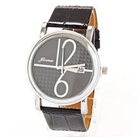 Watch Calendar Leather Female Women Acrilic Wholesale Dropship Fashion Clock