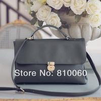 2014 new Classicial  fashion satchel bag women genuine leather handbags designer Women Messenger Bags doctor bag  free shipping
