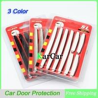 8PCS/Set Car Door Edge Guards Trim Molding Protection Strip Scratch Protector Dropshipping