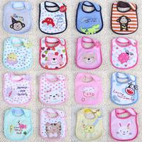 Baby bib cartoon animal graphic patterns muffler scarf embroidered baby bibs bib rice pocket sputa cloth cartoon waterprof  p213