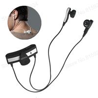Sports Back Clip-On Wireless headphone Bluetooth 2.1 + EDR Headset Studio Headphone for iPhone 5/4 Smartphone Laptop Tablet PC