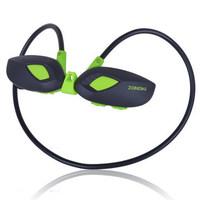 100pcs ZONOKI M5 Stereo Sports earphone 4g ram wireless earphones portable mp3 digital music player earphones free DHL
