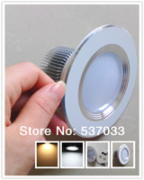 6pcs 3*3W High Power 9W LED Downlight Warm White LED Lamp Recessed Downlights Spot Ceiling LED Lights for Home Lighting Hot Sale