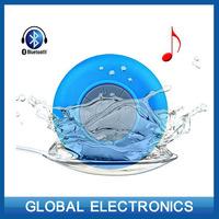 Portable Shower Waterproof mini bluetooth Wireless Bluetooth 3.0 Car Mic Handsfree Music Mic Speaker phone speaker