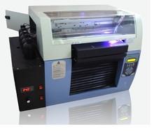 Free shipping A3 Size UV LED Printer 6 Color Max. Print Thickness 20CM UV Embossed Image Printer Machine/White Ink UV Printer