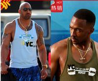 Hot 2014 New Men's GYM Raceback Stringer Singlets World's Gym 100% Cotton Boy Bodybuilding Weight lifting Sports Vest  M-XXL