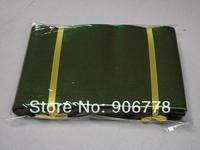 African Aso-Oke head tie plain design pure color army green aso oke,nigeria wedding and party accessory,african headwear