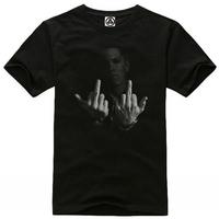 New Men Printed cotton round neck short sleeve T-shirt  Men's fashion  t-Shirt SIZE XS-XXL