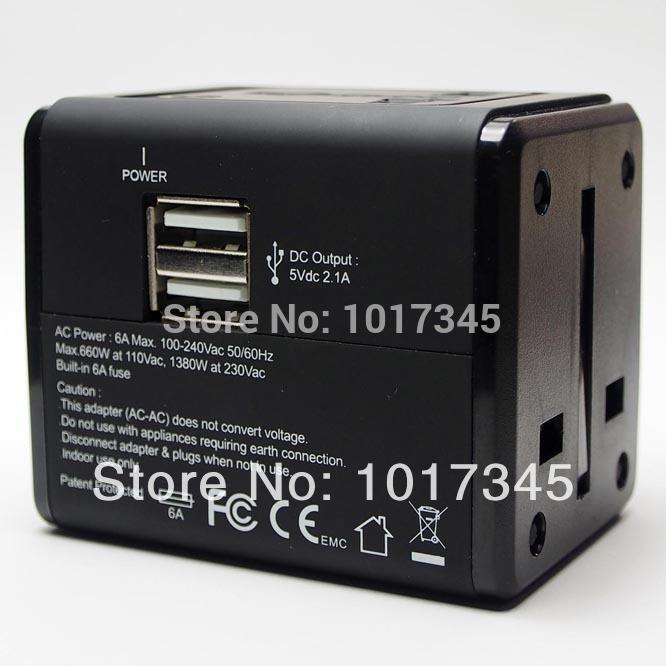 Free Shipping 2014 Top Quality World Travel Plug Adapter Multifunctional Conversion Plug Universal Travel Adapter Socket(China (Mainland))