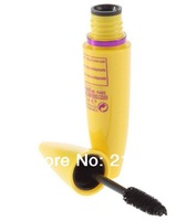 New 2014 3pcs/lot Professional Makeup Mascara Volume Express COLOSSAL Mascara with Collagen mega brush 9.2 ml