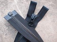 #5 resin zipper outerwear zipper 48 cm Length Open -end