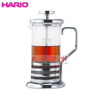 Hario glass stainless steel teapot filter pressure pot thj-2sv 300ml