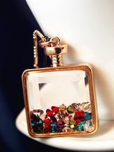 wholesale perfume bottle necklace