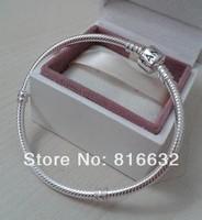 APB114 new 2014 925 Silver free Ship Charm bracelet European beads snake Chain Fit Bracelet&Bangle DIY Charm Bracelet For Beads
