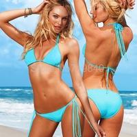 Women bikinis set Poly chest sexy bikini swimwear  bikini 2014 Hot selling V033