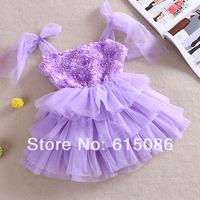 2014 kids floral dress,tutu dress for kids,girl party dress,5 pcs/lot