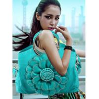 Diamond flower women's handbag the trend of female 2014 large capacity female shoulder bag handbag messenger bag