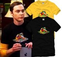 Male Women tbbt sweet lovers magic cube 100% cotton o-neck short-sleeve T-shirt S-XXXL