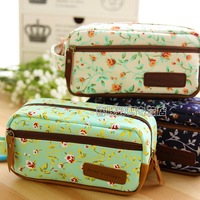 canvas pencil case stationery bags large capacity korea stationery pen bag girls pencil case