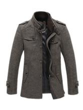 mens pea coat fashion promotion