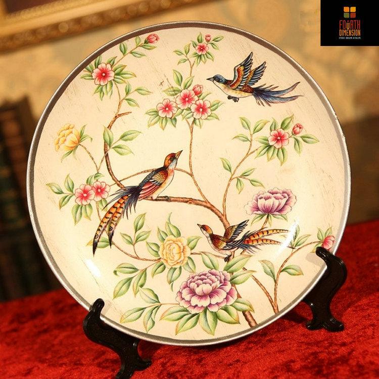 Antieke porseleinen bord promotie winkel voor promoties antieke porseleinen bord op - Decoratieve platen ...