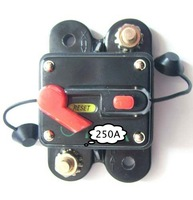 250 AMP Car Audio Inline Circuit Breaker REPLACE Fuse for 12V DC Protection  250A 12VDC