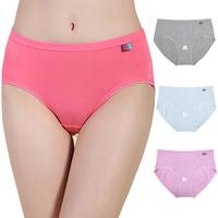 High Quality Cotton Women's Sexy Seamles Briefs Comfort Plus Size Panties for Women Ladies Underwear
