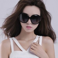 Big box sun glasses vintage women's sunglasses