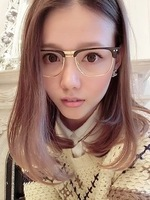 Fashion vintage big glasses male Women box eyeglasses frame myopia metal plain mirror glasses