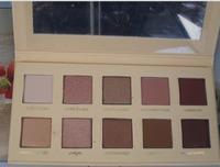 2014 New  !  LORAC UNZIPPED 10 color Eye Shadow Palette + Eye Primer  12pcs /lot Free Shipping