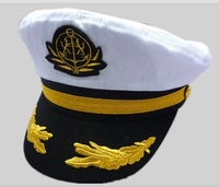 Adult uniform hat props cap sailor hat navy cap captain cap military hat