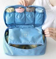 Multifunctional Travel Storage Bag Underwear Pouch Cosmetic Bag Case Waterproof Travel Bag bra bag