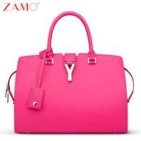 Y zamo genuine leather bag y chain bag ol fashion handbags handbag shoulder bag cowhide fashion women's bags