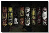 Game of Thrones TV Season 2 3 4 Wall Poster 36x24 18x12 inch Big Room Prints Daenerys Jon  GOT Winter Coming Sign House (010)