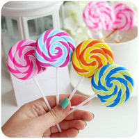 Free shipping wholesale 80 pieces/lot creative lollipop erasers for kids school cute novelty erasers promotional eraser