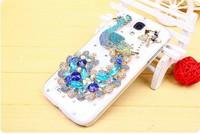 wholesale SAMSUNG I9500 top luxury Rhinestone proof  mobile phone case