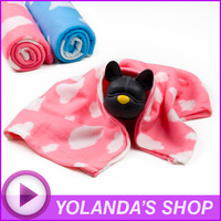Hot Sell New Cute Soft Warm Towel Mat Clouds Pet Puppy Dog Cat Fleece Blanket Cushion 90x80cm Pad