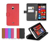 New High quality High-grade Leather Wallet Stand Skin Cover Case For Nokia Lumia 1320 Free shipping
