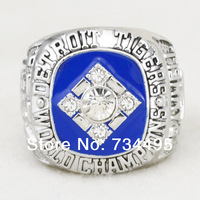 Free shipping!  rhodium plated replica 1984 Detroit Tigers championship rings  for men gift.