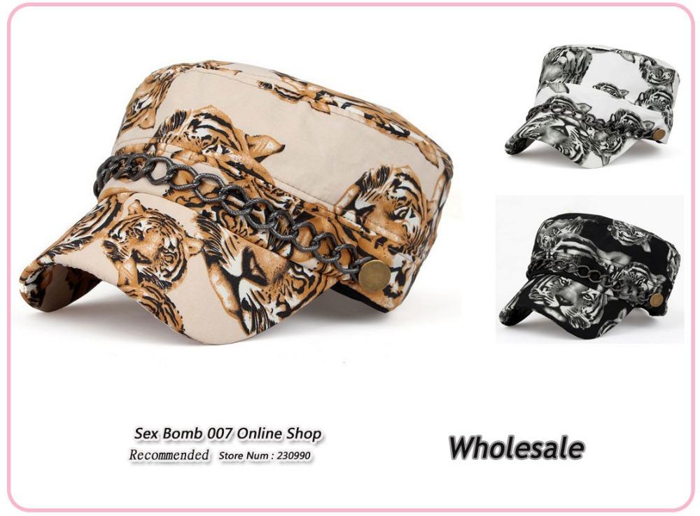 Wholesale 2015 New Casual Tiger Face Head Print Snapback Hats Hip Hop 3 Colors Animal Print Adjustable Baseball Caps 55-60cm(China (Mainland))