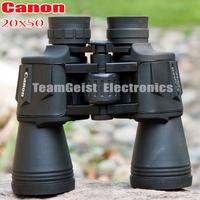 Hd wide-angle CANON 20x50 20x Zoom Binoculars Telescope With Glean DAY & Night Vision Optical Binocular Blue FMC Free Shipping