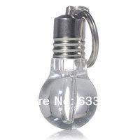 wholesale China cheap bulb light usb flash drive pen drive  4GB 8GB 16GB 32GB cool blue Light usb stick  Key Chain memory stick