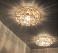 3W modern crystal lamp home chandeliers AC85-265V led spotlight living room led light diameter 14CM home lighting abajur sala