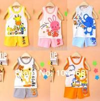 2014 new Baby Children clothing set, t-shirts girls boys t shirt+pants undershirt Shorts,kids pajama set,Children t shirts